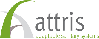 Logo Attris - Adaptable sanitary systems