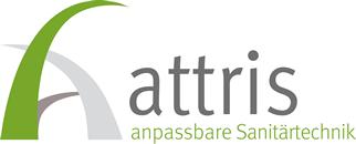 Logo Attris - Anpassbare Sanitärtechnik