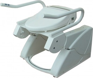 Stand-Up Support R2D2 imd R2D2-V with u-plate and bidet