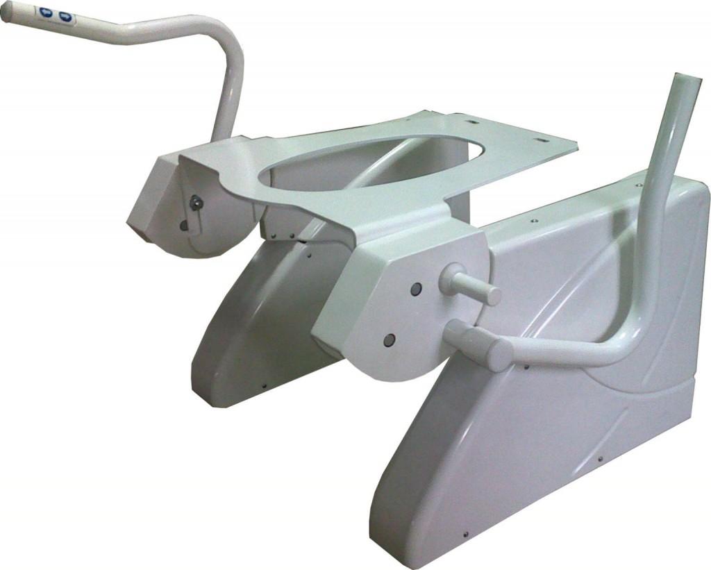 Aufstehhilfe R2D2-Raba und Vertikal Heber R2D2-V-Raba mit verstellbaren Griffen