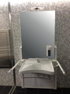 Lift-Waschtisch Aufputzmodell