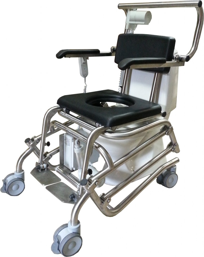 MMC - mobile toilet chair