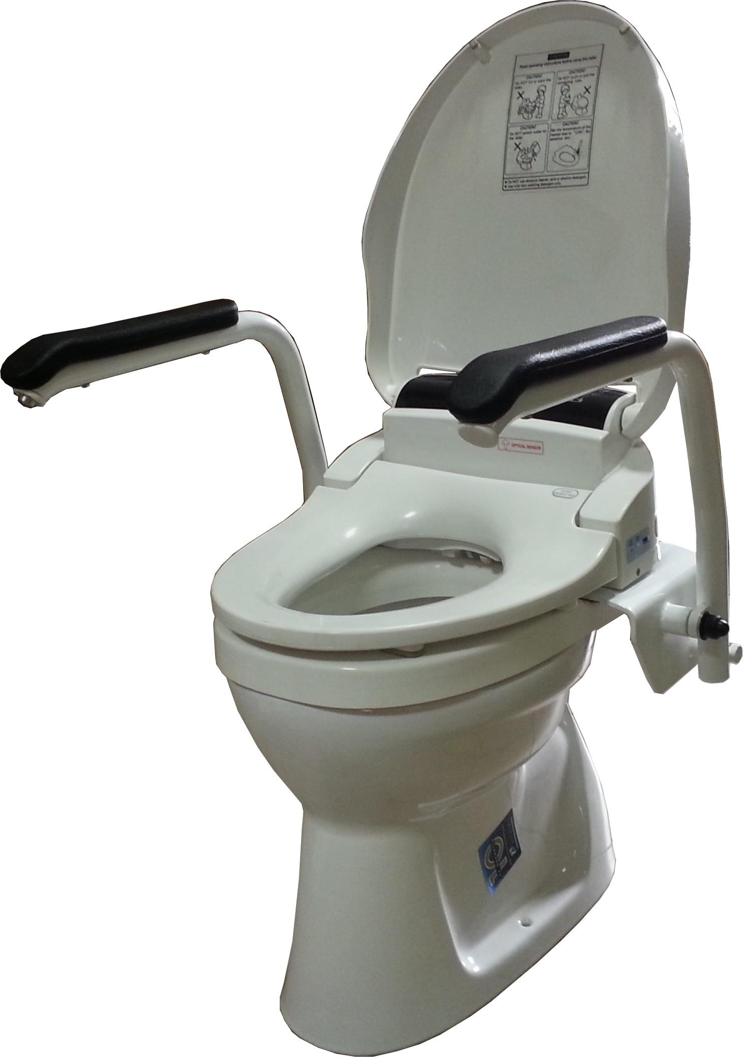 Santy Griffsystem besonders für Stand-Toiletten