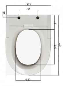 Sitzerhöhung Standardgröße