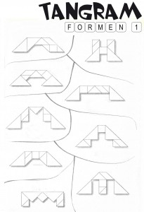 Tangram Lösungen Formen 1