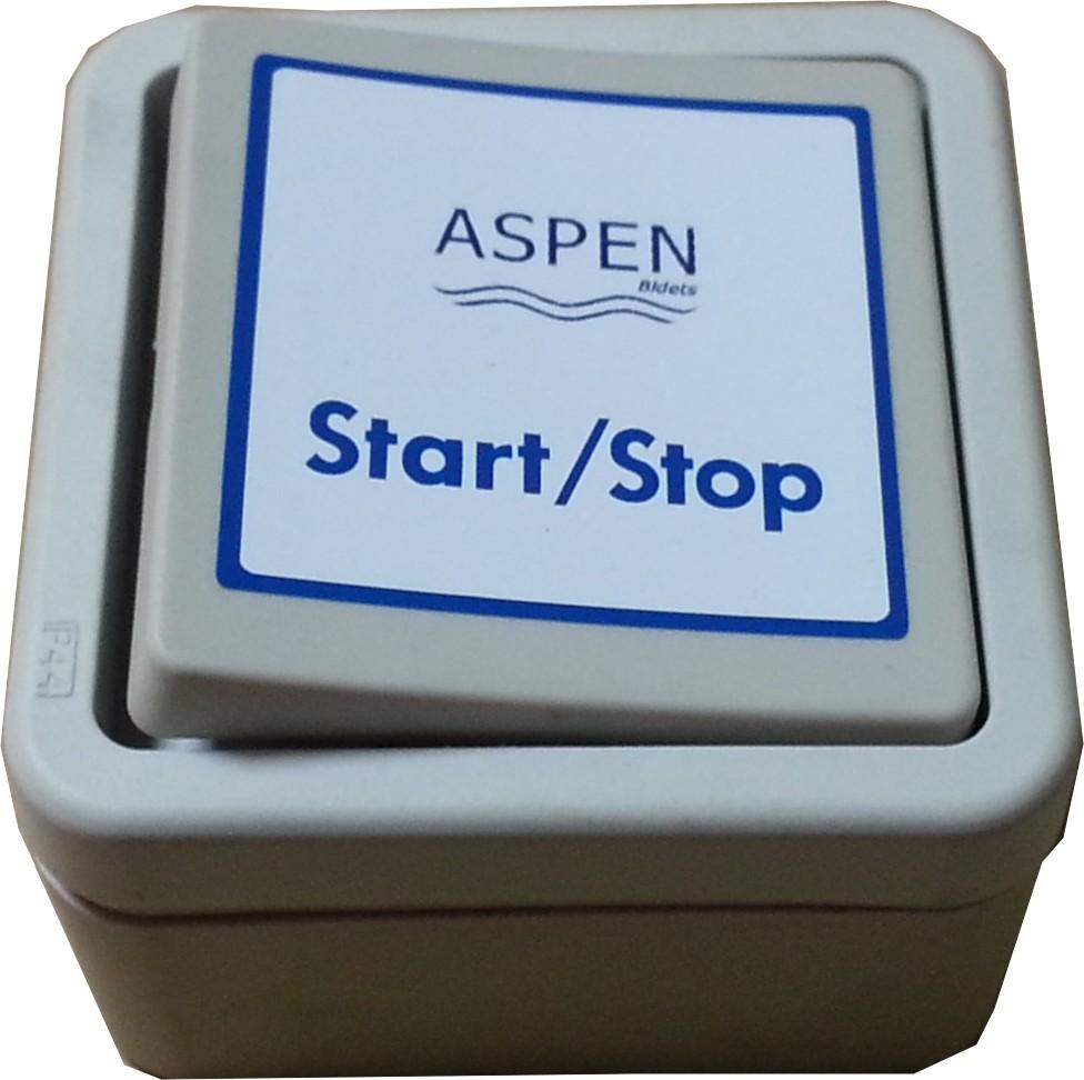 Aspen One-Touch-Schalter für Bidet mit kompletter Intimpflege