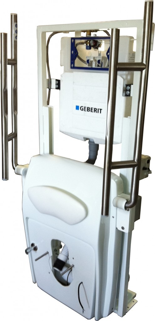 Lift Toilette CarePlus - Unterputzrahmen