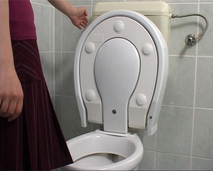 Safe Seat Toilett - Kontaktschutz bei der Toilettennutzung