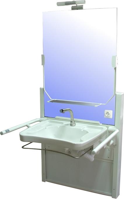Lift Waschtisch Aufputz - Konstruktion