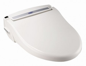 toilet seat with vebra air bidet