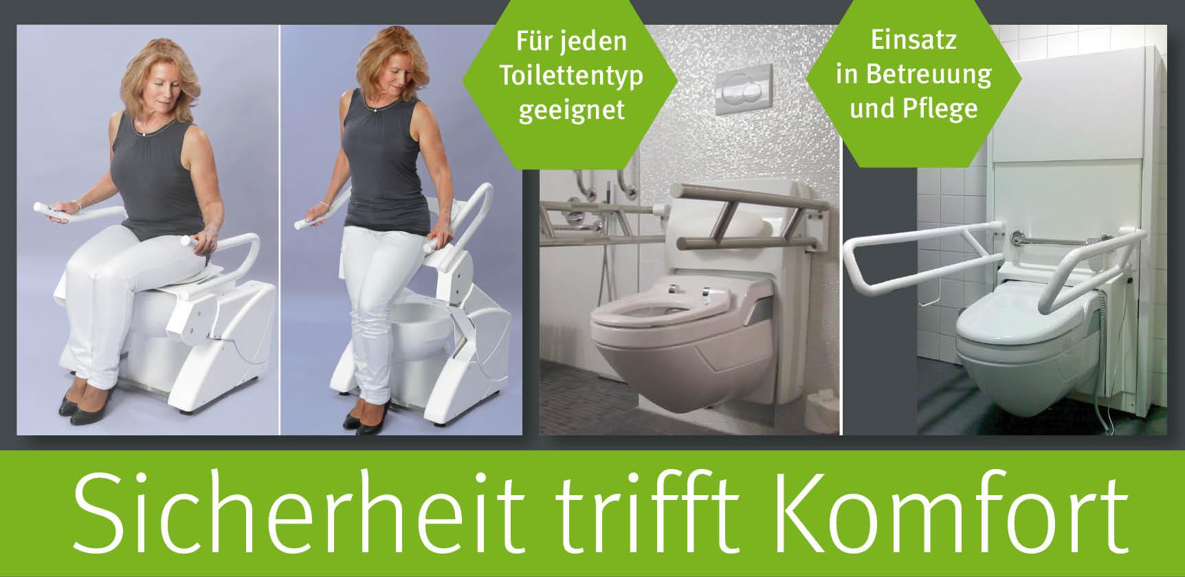 Attris Aufstehhilfen und Lift Toiletten